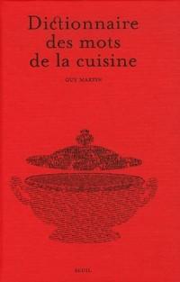 Dictionnaire des mots de la cuisine