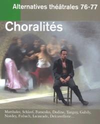 Alternatives théâtrales, numéro 76