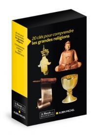 20 clés pour comprendre les grandes religions : Coffret en 4 volumes : Le Christianisme, Le Judaïsme, L'Islam, Le Bouddhisme