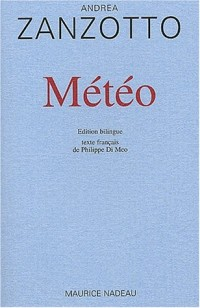 Météo. Edition bilingue français-italien