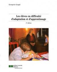 Les élèves en difficulté d'adaptation et d'apprentissage
