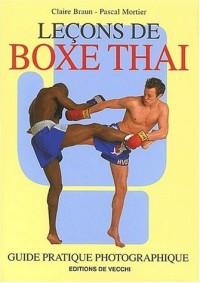 Leçons de boxe thaï