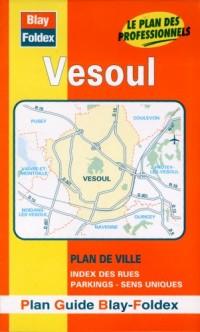 Plan de ville : Vesoul (avec un index)