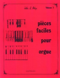Partition: Orgue vol. 3 pieces faciles