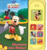 Bienvenue chez Mickey ! : Play-a-sound