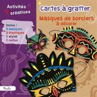 Cartes à gratter : Masques de sorciers