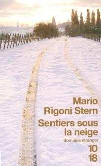 Sentiers sous la neige