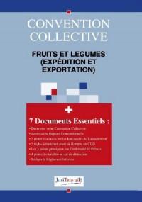 3233. Fruits et légumes (expédition et exportation) Convention collective