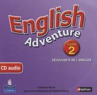 English Adventure Cycle 2 Découverte de l Anglais CD Audio