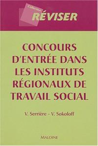 Concours d'entrée dans les instituts régionaux de travail social