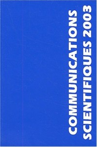 Communications scientifiques 2003 : 21èmes journées internationales de Mises Au Point en Anesthésie-Réanimation, Paris, 23 et 24 mai 2003 (1CD audio)