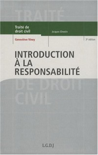 Introduction à la responsabilité