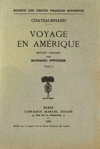 Voyage en Amerique