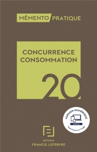 Mémento Concurrence - Consommation 2020