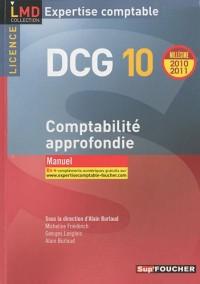 Comptabilité approfondie DCG 10 : Manuel