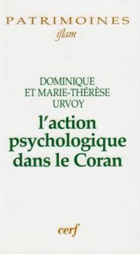 L'action psychologique dans le Coran