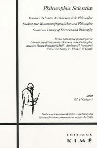 Philosophia Scientiae, N° 14 :
