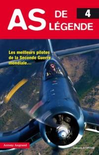 As de légende 4. Les meilleurs pilotes de la Seconde Guerre mondiale...