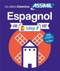 Cahier Exercices Espagnol 3e