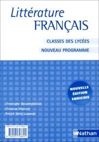 Littérature français classes des lycées : Livre du professeur