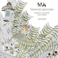 WA Harmonie japonaise - Dessins à colorier anti-stress