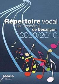 Répertoire vocal 2009/2010 à l'usage des écoles maternelles et élémentaires (2CD audio)