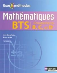 Mathématiques BTS groupements B,C et D