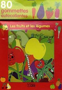 Ma Boite a Gommettes : les Fruits et Legumes