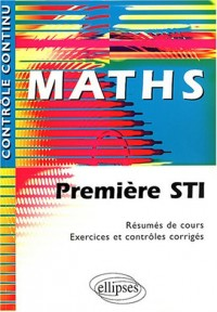 Maths 1ère STI