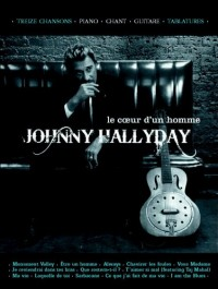 Hallyday : le coeur d'un homme (chant+piano+accords+ TAB)