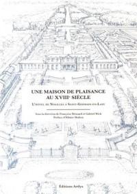 Une maison de plaisance au XVIIIe siècle : L'hôtel de Noailles à Saint-Germain-en-Laye
