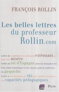 Les belles lettres du professeur Rollin.com
