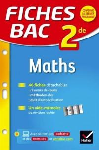 Fiches bac Maths 2de: fiches de révision Seconde