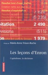 Les leçons d'Enron. Capitalisme, la déchirure
