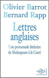 Lettres anglaises : Une promenade littéraire de Shakespeare à Le Carré