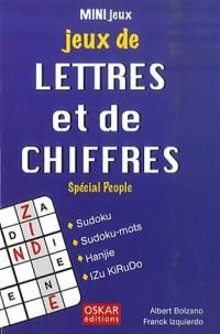 Jeux de lettres et de chiffres : Special people
