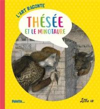 L'art raconté Thésée et le minotaure