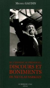 Du candidat au président : Discours et boniments de Nicolas Sarkosy