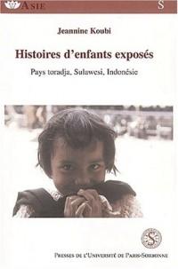 Histoires d'enfants d'exposés : Pays toradja, Sulawesi, Indonésie