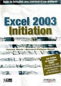 Excel 2003 initiation