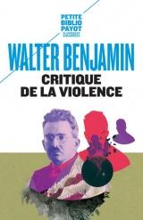 Critique de la violence et autres essais [Poche]