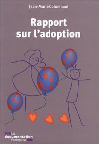 Rapport sur l'adoption