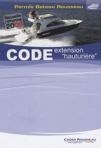 Code extension : Permis Bateau Rousseau