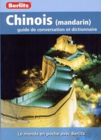 Chinois (Mandarin) Guide de Conversation et Dictionnaire