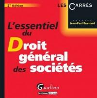 Essentiel du droit général des sociétés