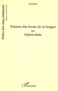 Poèmes des bouts de la langue