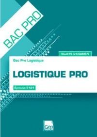 Logistique Pro - Sujets d'Examen - Pochette