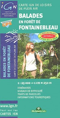 Fontainebleau Balades En Foret Loisirs Pl Air: Ign82090