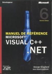 Manuel de référence Microsoft Visual C++ .NET