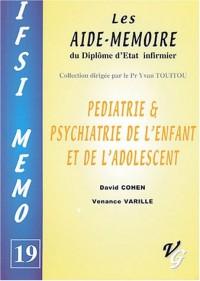 Pédiatrie & psychiatrie de l'enfant et de l'adolescent